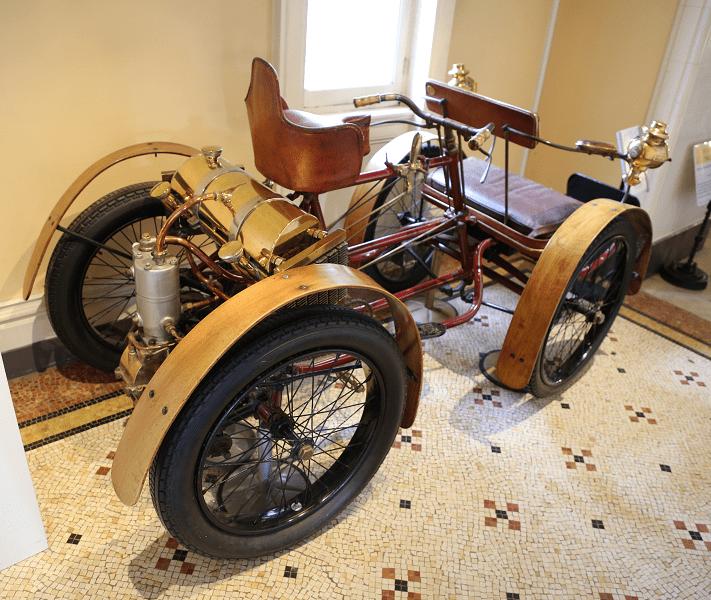 Французский квадроцикл Darracq Perfecta №2 Type Touriste образца 1899 года