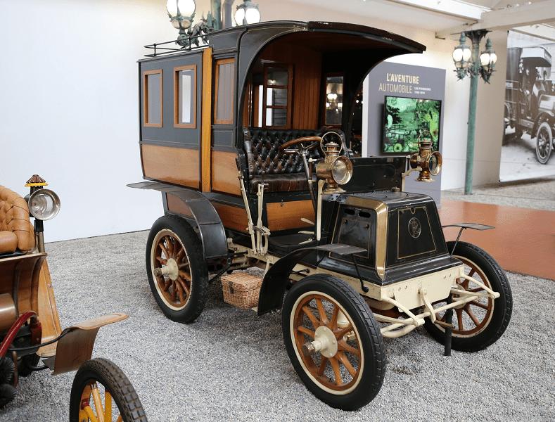 Panhard Levassor Tonneau Ferme Type A2. Сделано во Франции