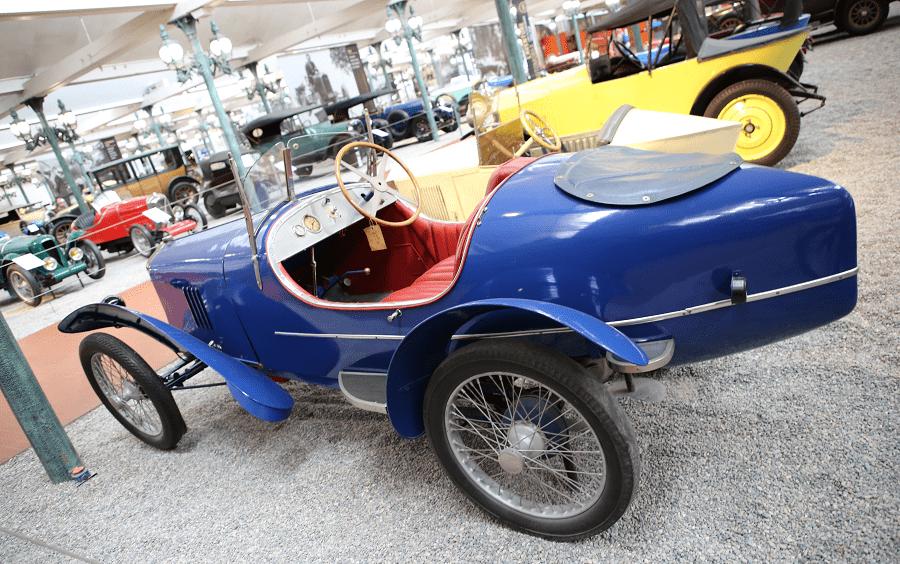 Французский Senechal Biplace Sport Type SS образца 1925 года