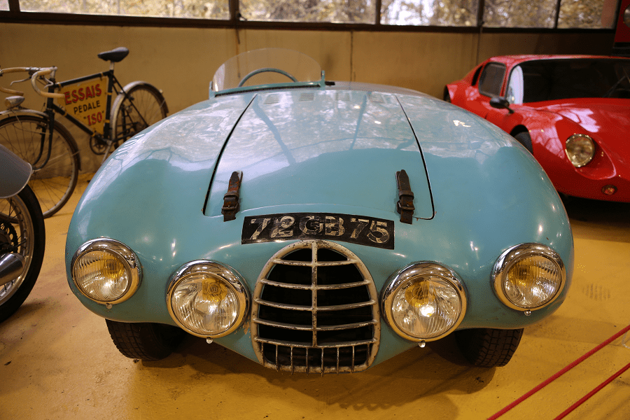 Gordini Biplace Sport Coupe 23S №16 S образца 1952 года