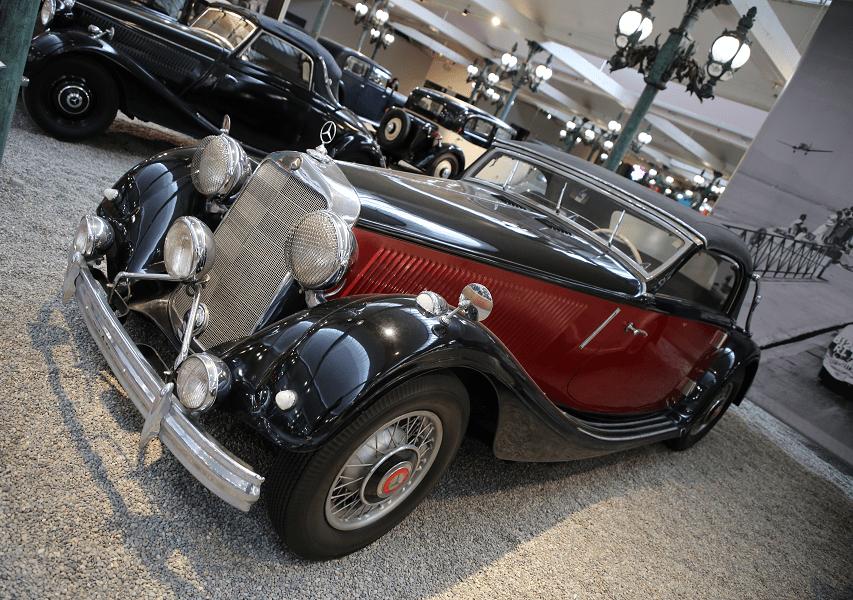 Mercedes-Benz Cabriolet Type 290 образца 1937 года