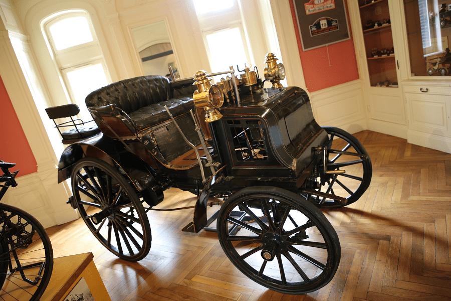 "Panhard Levassor Break (четыре места) образца 1895 года с мотором Daimler ""Phoenix"""