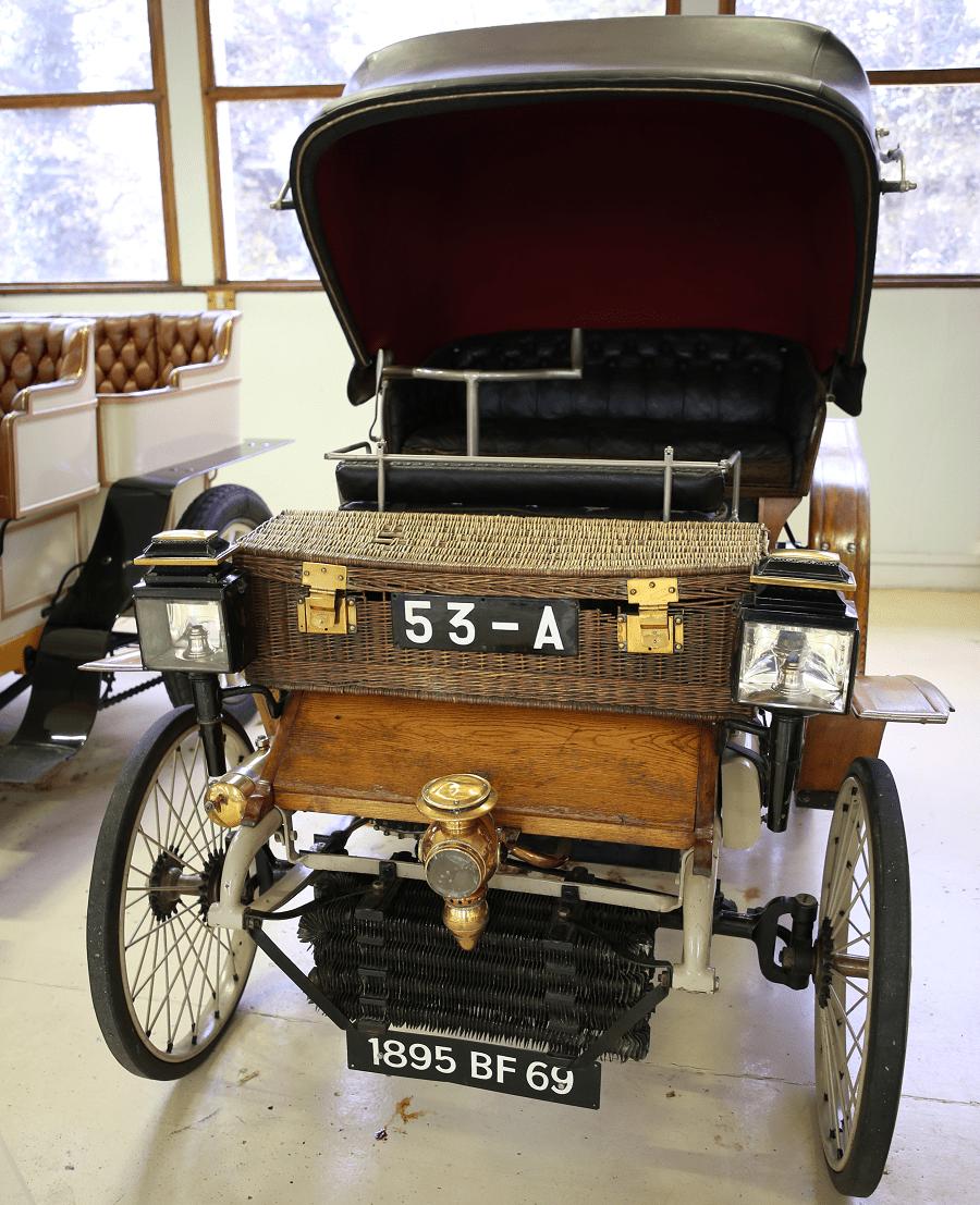 Peugeot Type 24 образца 1899 года