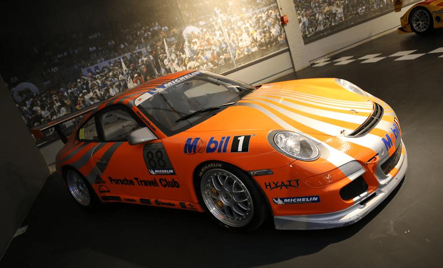 Гоночный Porsche 911 GT3 Cup Type 997 образца 2006 года
