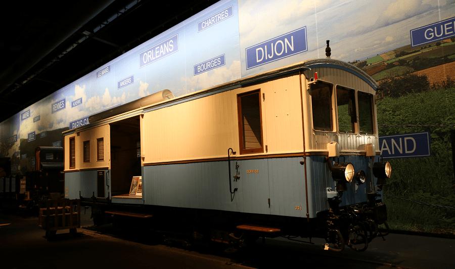 Железнодорожная автомотриса Z 209 St Gervais образца 1901 года