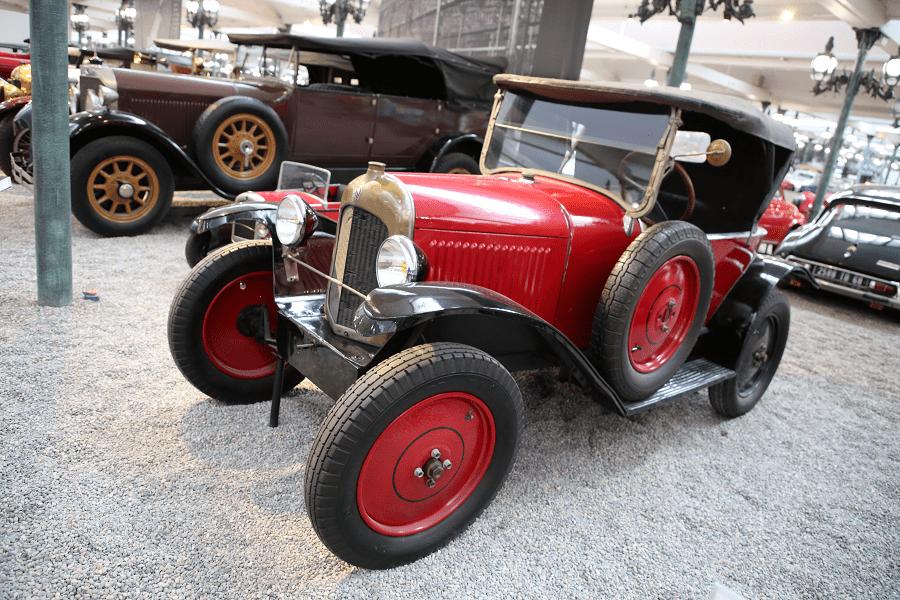 Красный Citroën Torpedo Type C образца 1923 года