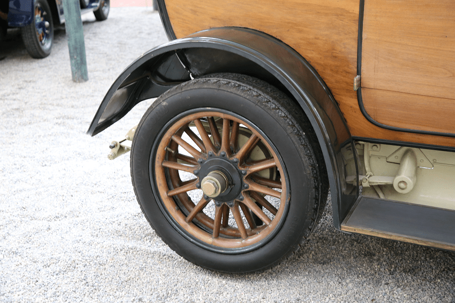 Renault Limousine Type EU : voiture ancienne_roue_histoire