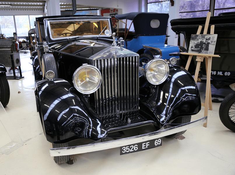 Rolls-Royce Coupe Chauffeur 25/30 образца 1936 года с кузовом Barker & Co