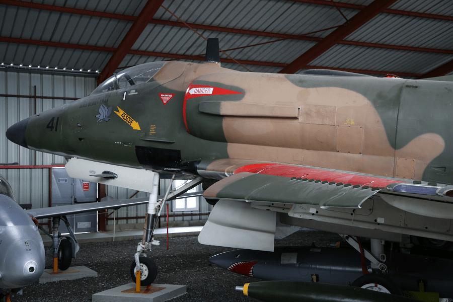ST Aerospace A-4SU Super Skyhawk - истребитель-бомбардировщик Сингапурских ВВС