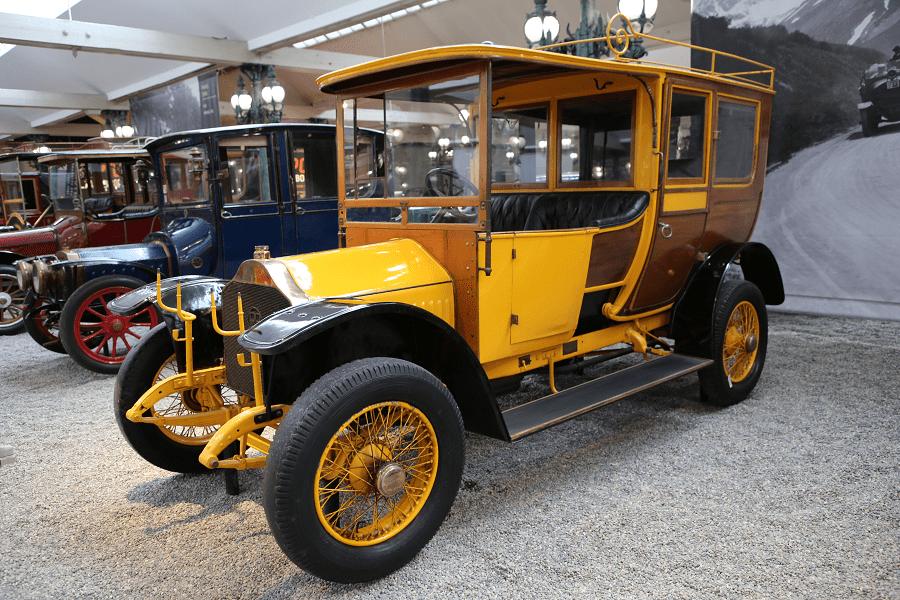 Швейцарский Piccard-Pictet Coupe Chauffeur Type 18 HP образца 1911 года