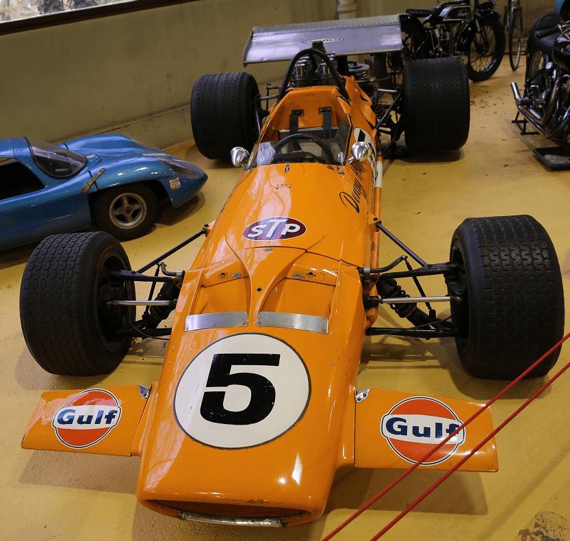 Английский McLaren Monoplace Formula 1 Type M7A №2 образца 1968 года