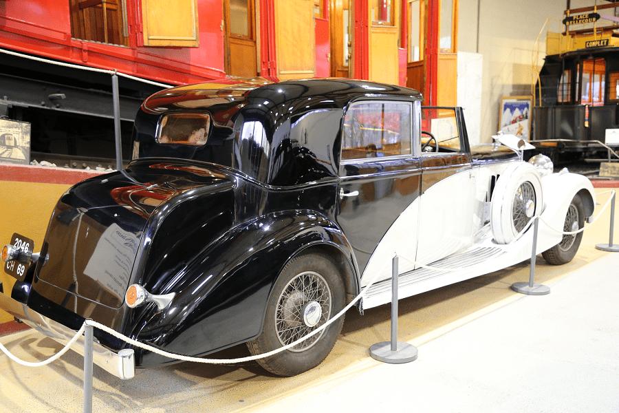 Французский Hispano-Suiza K6 Coupe Chauffeur образца 1936 года с кузовом Franay