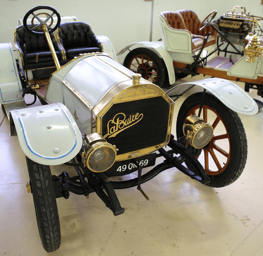 Французский La Buire 8 CV Type Course образца 1905 года