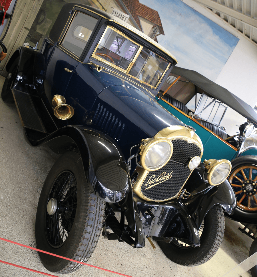 Французский Luc Court H4 S2 Cabriolet Spider образца 1928 года