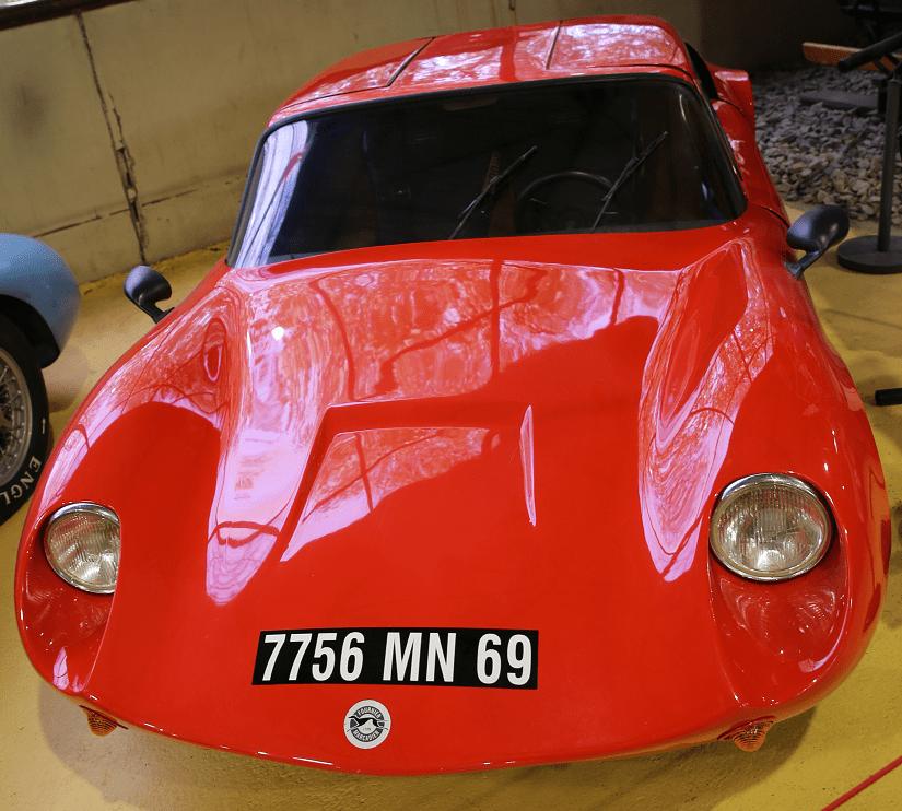 Французский Marcadier Coupe Barzoï Biplace образца 1971 года