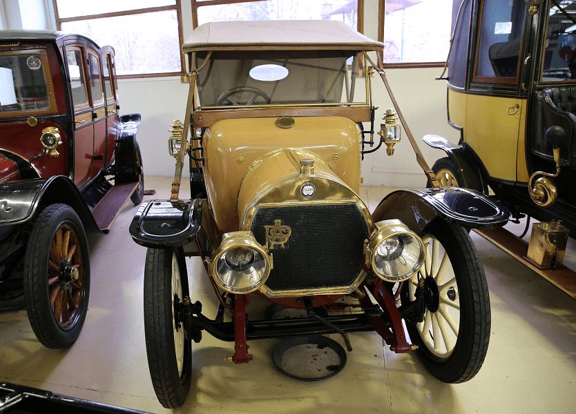 Французский Pilain Type 4-0 образца 1912 года