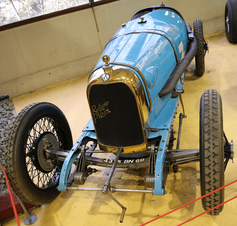 Французский Rolland - Pilain Course Grand Prix A22 образца 1923 года