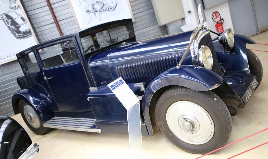 Французский Voisin C24 Coach Caréne образца 1934 года
