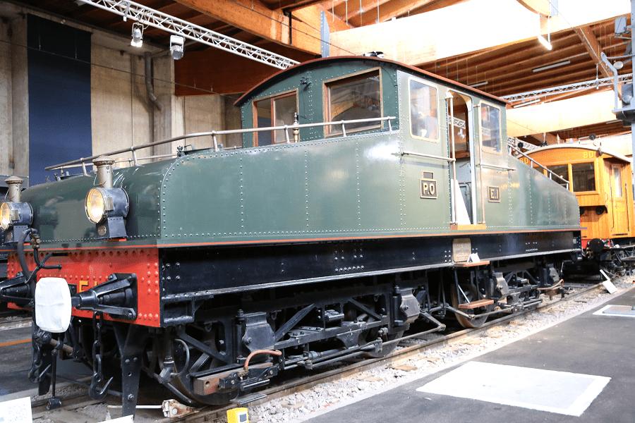 Французский электровоз E1 «boîtes à sel» (PO)