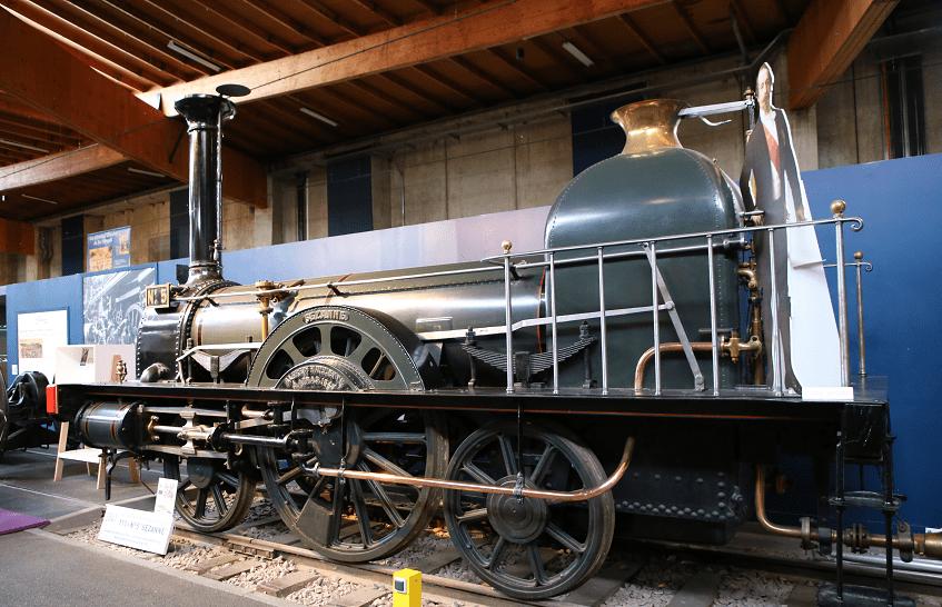 Французский паровоз 1-1-1 №5 Sézanne