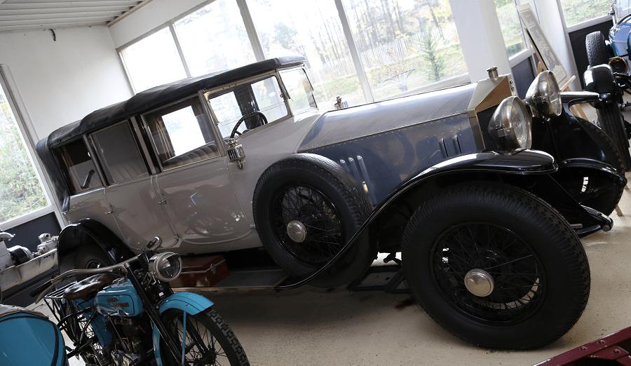 Французский Sizaire Berwick Type SD Limousine Transformable образца 1927 года