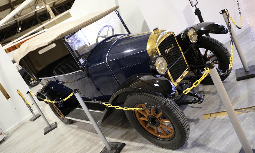 Синий Peugeot Type 163 Torpedo образца 1920 года