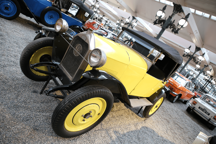 Mathis Torpédo Type P. Couleur jaune_photos_vehicules_transport routier