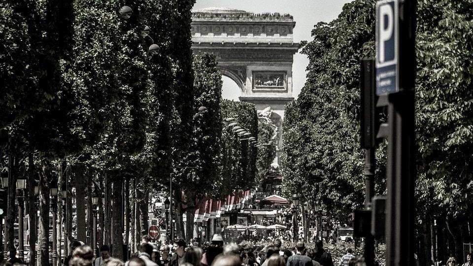 """Париж превратит Елисейские поля в """"необыкновенный сад"""" за 250 млн евро"""