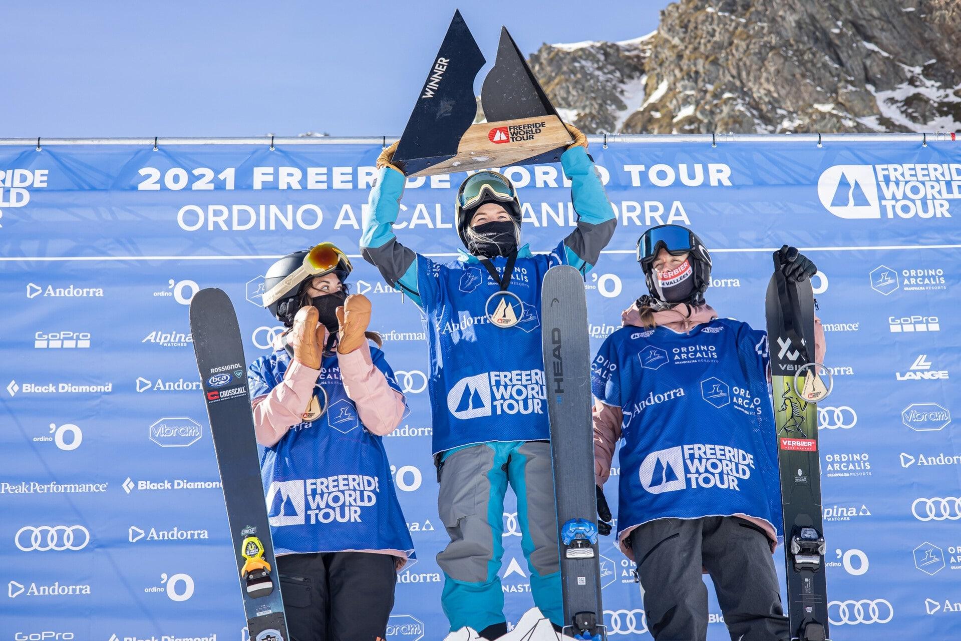 Andorre a accueilli l'étape inaugurale du FWT