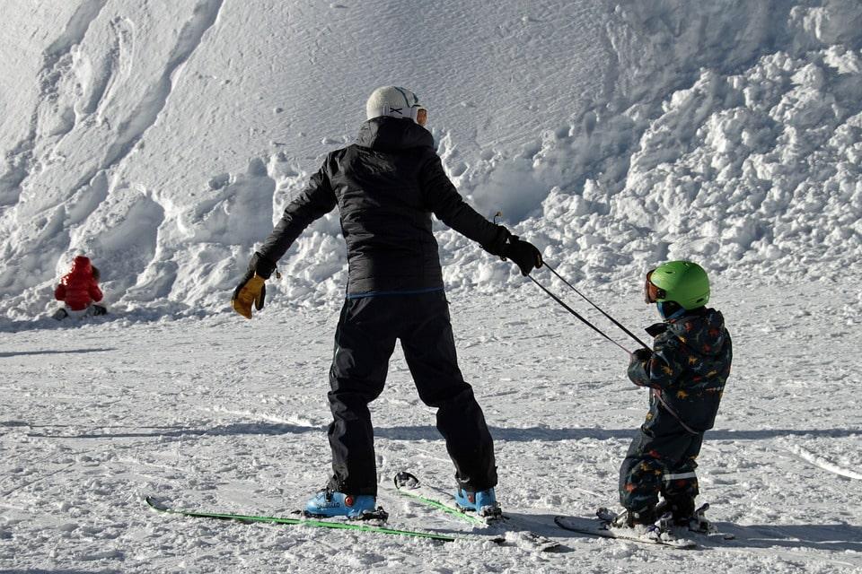 Val Louron with 22 km of ski slopes