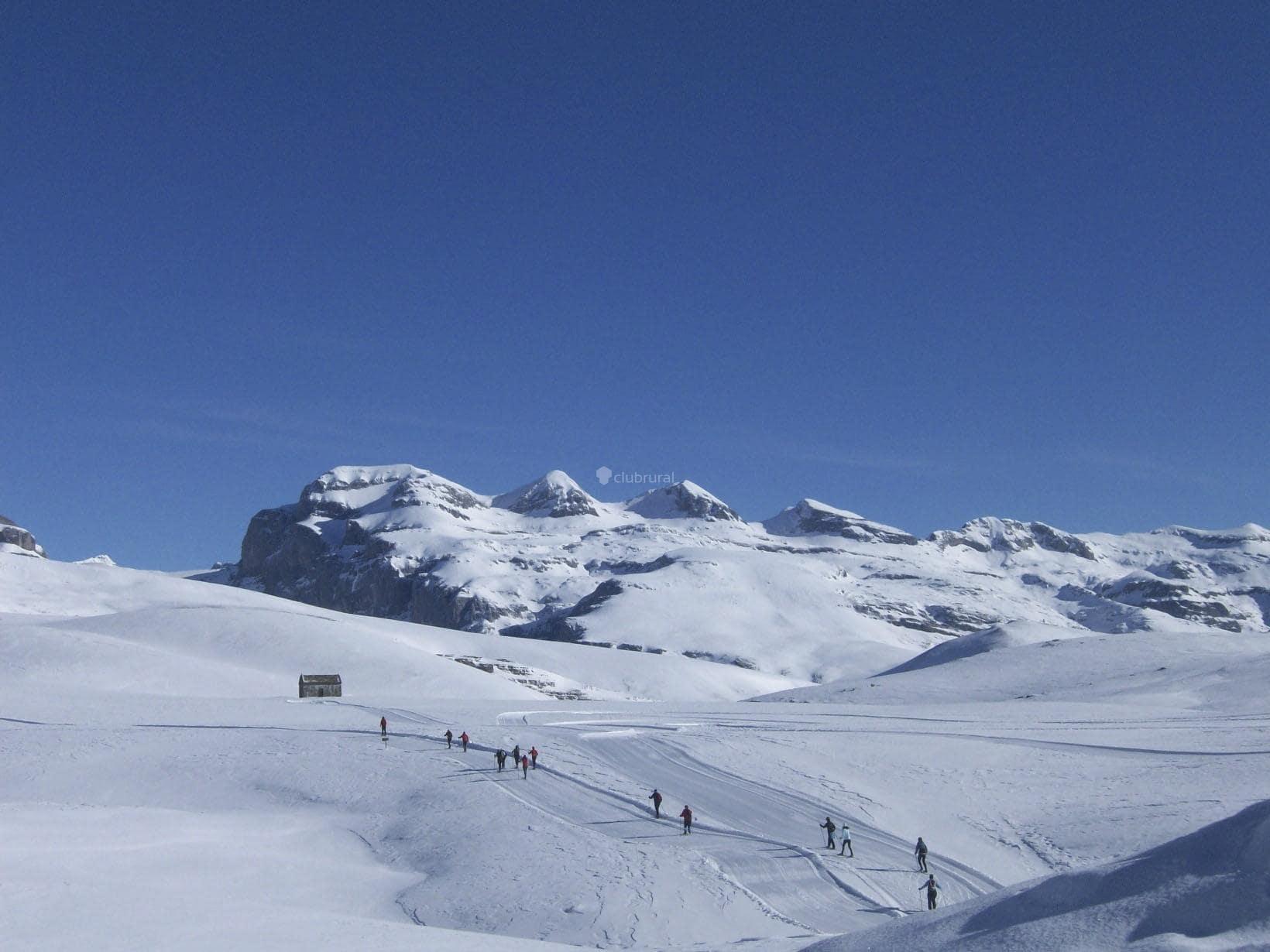 Fanlo del valle de Vio: 28 km of cross-country skiing