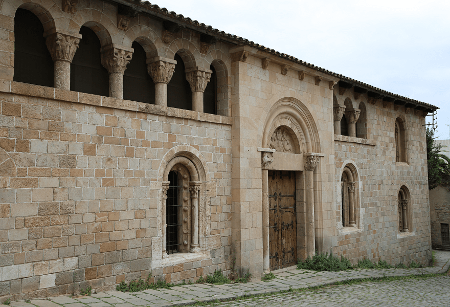 The Monastery of Santa Maria de Pedralbes - a monumental complex in a Gothic style
