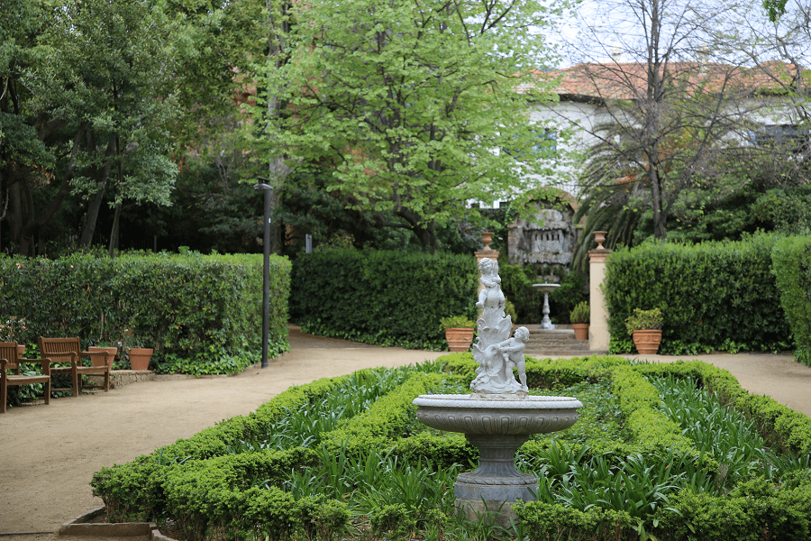 The Tamarita Gardens in Barcelona