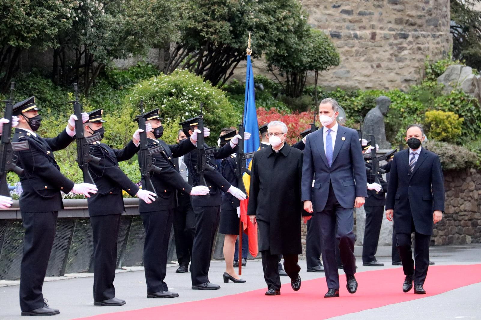 Андорра принимает короля Испании Фелипе VI в рамках Иберо-американского саммита