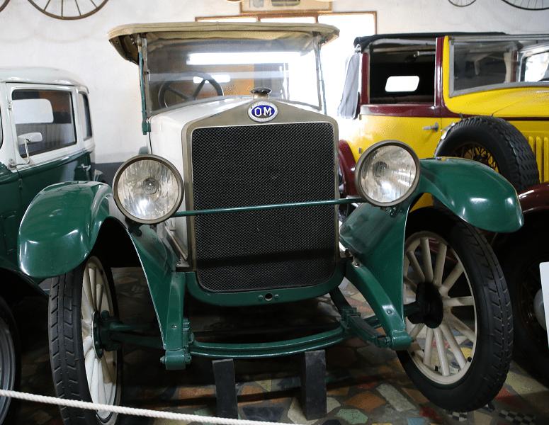 Итальянский OM 465 Torpedo образца 1920 года, 4 цилиндра, 1375 куб. см