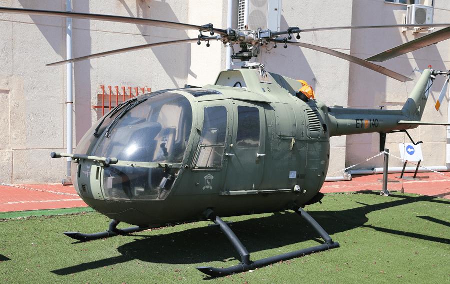 Messerschmitt-Bölkow-Blohm Bo 105 - первый легкий двухмоторный вертолет